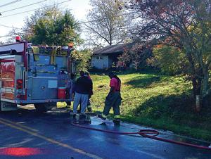 LaFayette man trapped in house fire, dies at hospital