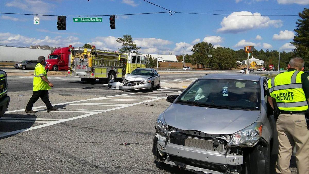 Wreck at Ga. 53, Veterans Memorial Highway