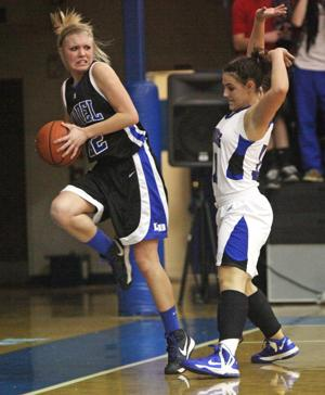 Girls Basketball: Model at Armuchee