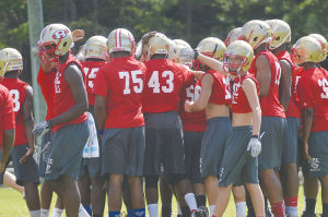 Rome High getting ready for season with conditioning practices