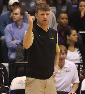 Calhoun boys coach Vince Layson