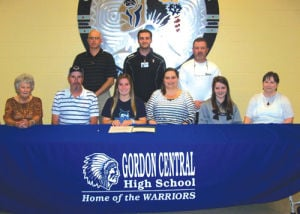 Gordon Central's Shawnda Martin signs with Georgia College