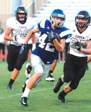 FOOTBALL: Gordon Central looks for improvement after scrimmage loss