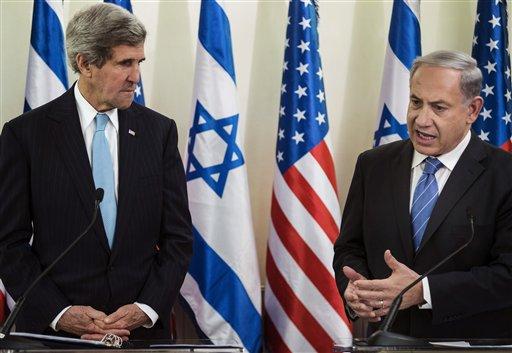 John Kerry, Benjamin Netanyahu