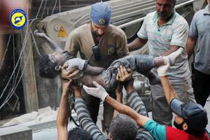 Syrian government attacks 2 hospitals, bread line in Aleppo