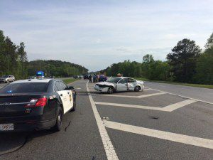 Pursuit on State Route 53 near Scottsville community ends in arrest