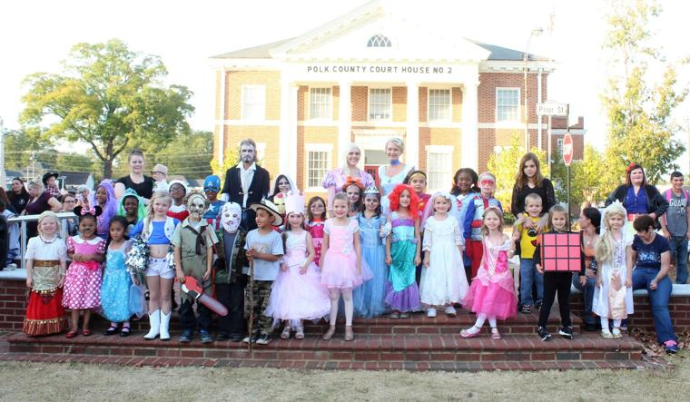Halloween Costume Contest 4-8 year old group
