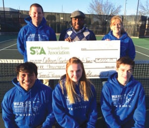 Gordon Central receives Sequoyah Tennis Association donation