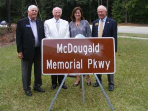 Statesboro honors McDougald family with McDougald Memorial Parkway