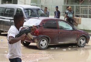 Libya military spokesman: Army in central Benghazi