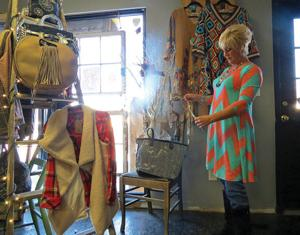 <p>Customers at Tootsie's Red Bird Boutique in Fort Oglethorpe can find styles casual enough for a ball game and fancy enough for a night out on the town. (Catoosa News photo/Tamara Wolk)</p>