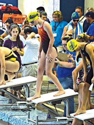 SWIMMING: Otters end season on strong note at state meet