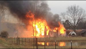 Calhoun home burns to ground