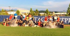 Softball: Heritage celebrates victory with ALS Ice Bucket Challenge