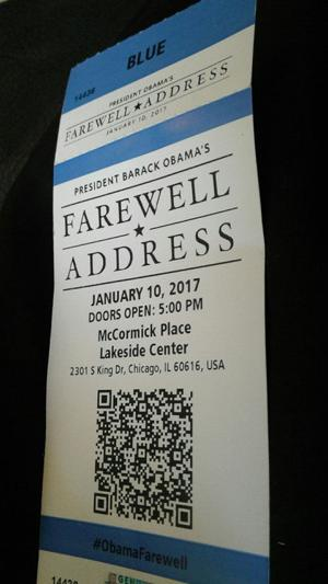 Rome bishop to witness Obama's farewell speech