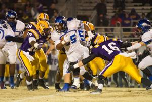 FOOTBALL: Model's offense sputters in 48-14 loss to Fitzgerald on road