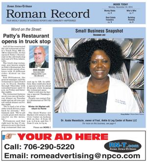Roman Record details many downtown deals