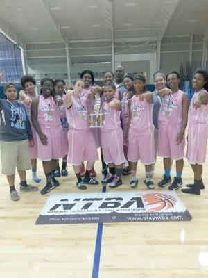 <p>The team is made up of Tiara Penson, Lexy Barnett, Keona Love, Victoria Frazier, Tia Covington, Jacrisa Ware, Konstance Knox, Carah Arrant, Bree Browning, Nezra Brown and Nasia Collins. The team is coached by head coach Nashaun Jackson and assistant coaches Krista Lemus and Heather Peek. (contributed photos)</p>