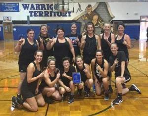 Gordon Central alumni tournament women's winner Lady Warriors
