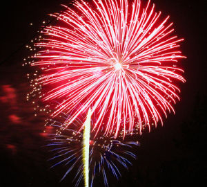 <p>File - Homespun's fireworks shows is a popular summer event in Polk County. </p>