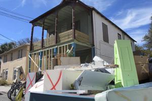 Hurricane floods homeless housing in historic St. Augustine