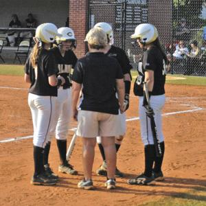 Calhoun softball vs. Ringgold