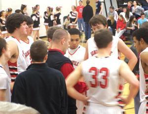 Sonoraville coach Brent Mashburn