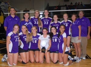 Darlington volleyball