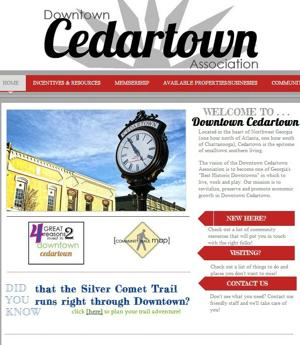 Downtown Cedartown website