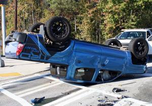 Police urge caution driving after 2 wrecks with no serious injuries at Ga. 53, Veterans Memorial
