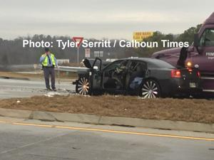 Pursuit on I-75 Ends in Resaca