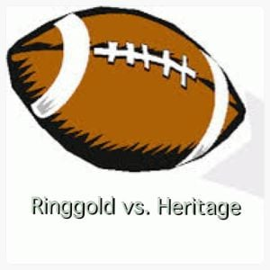 Football: Ringgold and Heritage take the stage Friday