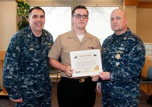 Keith Black named January Shipmate of the Month