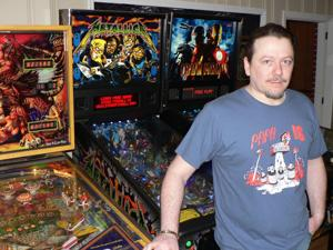 Pinball buff set for state event