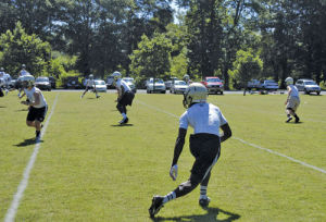 Football: Calhoun hosts annual passing camp