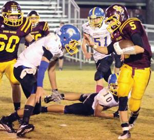 HIGH SCHOOL FOOTBALL: Spring Garden piles up the points in victory over Coosa Christian