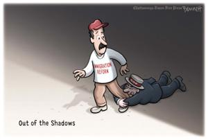 <p>Clay Bennett, Chattanooga Times Free Press</p>