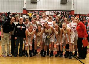 Sonoraville girls basketball region champs