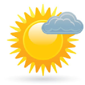 Saturday's weather: Mostly sunny, high 82