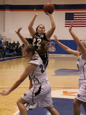 BASKETBALL: Lady Jackets shut down Woodland