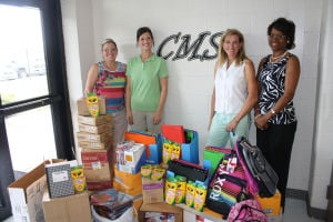 Junior Service League of Rome donates supplies to schools around county