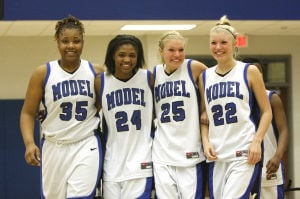 Girls Basketball: Murray Co. at Model