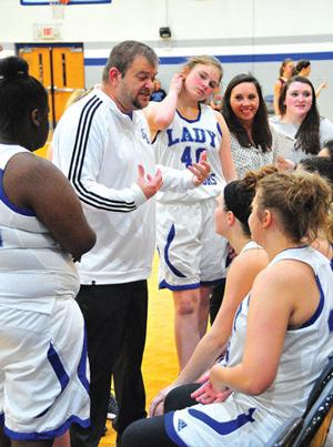 <p>Matt Swanson took over as interim head coach for the Gordon Central girls in early January and was named to the permanent role last week. (File-Frank Crowe, For the Calhoun Times)</p>