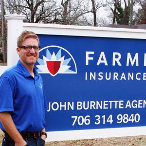 <p>John Burnette, owner of John Burnette Agency, Farmers Insurance, is answering the questions for today's Small Business Snapshot.</p>