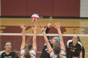 VOLLEYBALL: Lady Eagles fall short in 2nd round