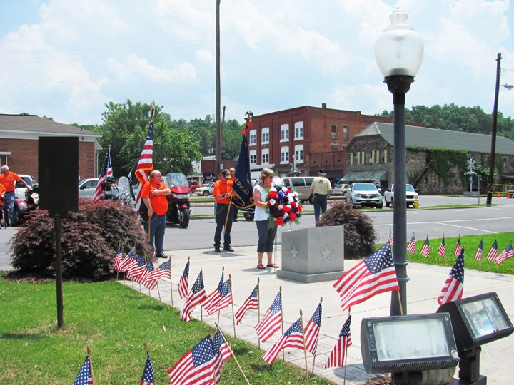 Rockmart Memorial Day remembrance