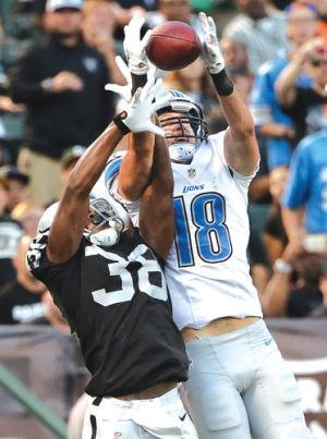 NFL: Calhoun alum Durham among depth at reciever for Lions