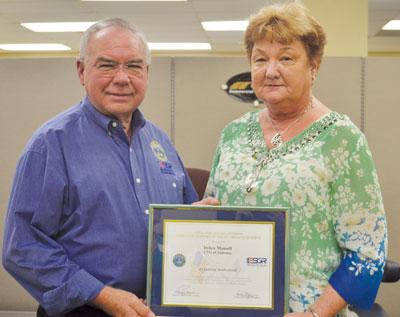 Mansell earns Patriotic Employer Award