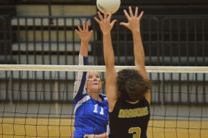 VOLLEYBALL: Model edges Rome, Pepperell