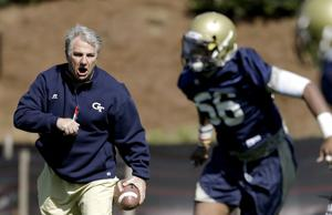 GEORGIA TECH FOOTBALL: Roof working on takeaways, third down stops